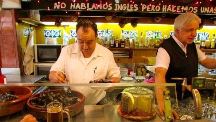 Tapas bars, La Bombeta