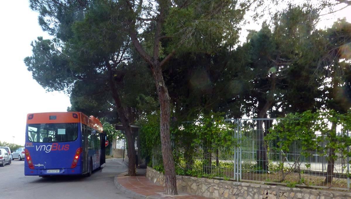camping near Barcelona bus to city centre