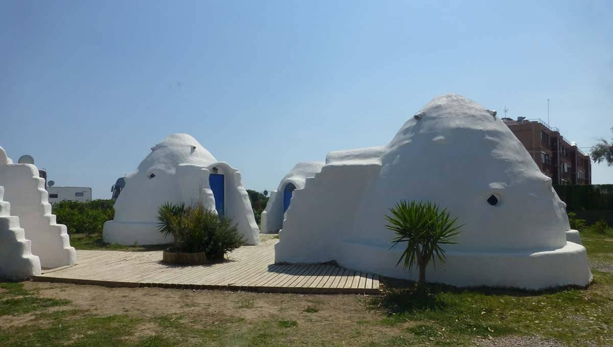 camping Barcelona 3 estrellas: eco domes