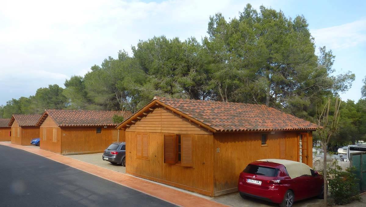camping near Barcelona: Villanova Park chalets