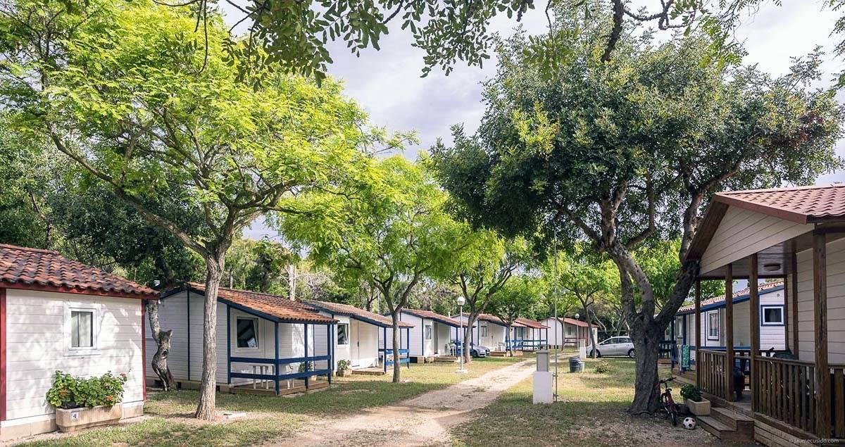 sitges campsite chalets