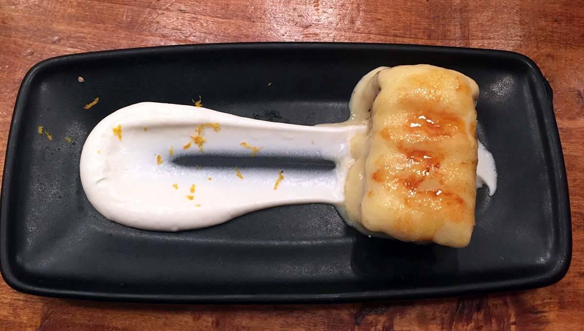 torrija dessert bodega la Puntual