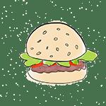 burger drawing