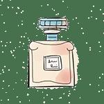 perfume bottle drawing