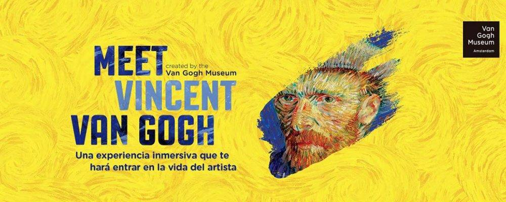 Meet Van Gogh exhibition in Barcelona, 14th March - 2nd June 2019