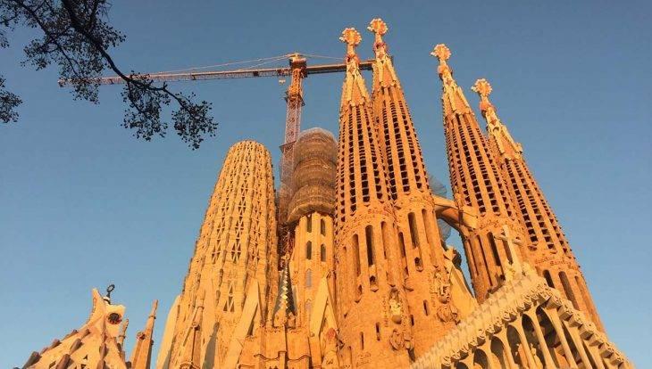 Sagrada Familia 5 mins from the Ibis Hotel